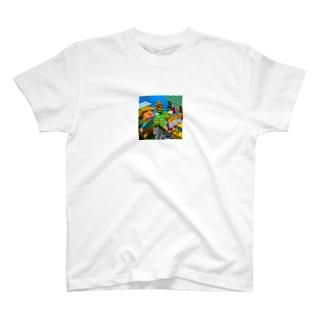 ボクセルファーム スマホケース T-shirts