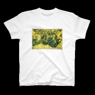 ここだけの銅版画SHOPの動物達~銅版画シリーズ1 T-shirts