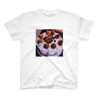 誕生日ケーキ T-shirts