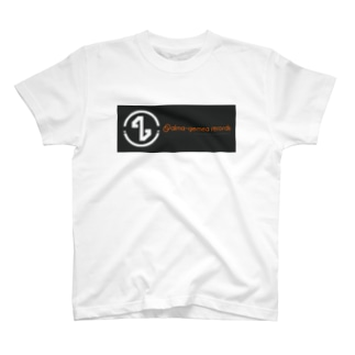 alma-gemea records  (white) T-shirts