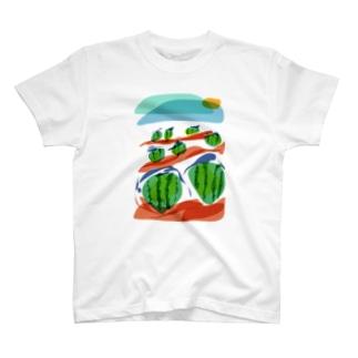 すいかばたけ T-shirts