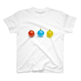 赤トマト青トマト黄トマト T-shirts