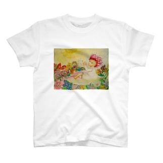 アマリリスの上で T-shirts