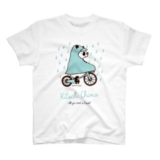 レインコートパンダ T-Shirt
