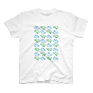 かえるならべ T-shirts