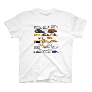 文字なし無気力動物園 T-Shirt