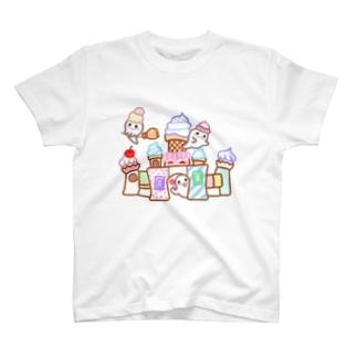 おばけとお菓子のお城 T-shirts