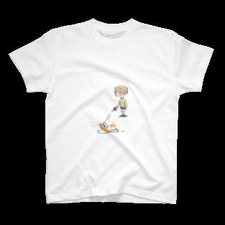 pomubeのみずやり T-shirts