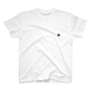 アガベ・チタノタ ワンポイントTシャツ T-shirts