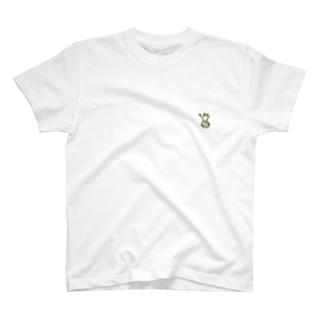 パキポディウム・グラキリス ワンポイントTシャツ T-shirts
