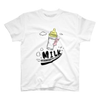 MILK JET T-shirts