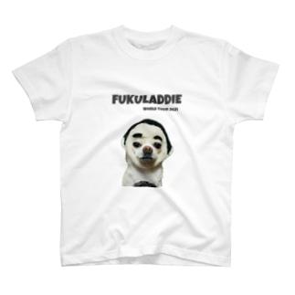 フクレディーのワールドツアーのグッズ的なもの T-shirts