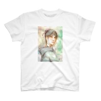 KELLYSTORE@suzuriのpurple rain T-shirts