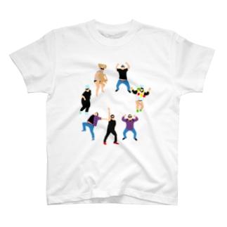 サークルJ T-shirts