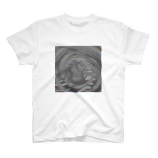 渦巻きノイズ T-shirts