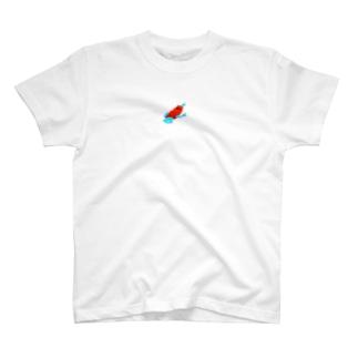 真っ赤なカエル T-shirts