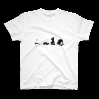 るるてあのマーチングハット4コ T-shirts