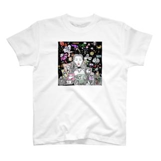 キュビズムの宇宙 T-shirts