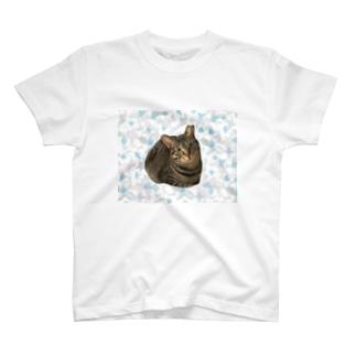 くーちゃんと花たち T-shirts