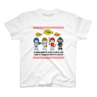 チーム天竺 ~西遊記×野球~ T-Shirt