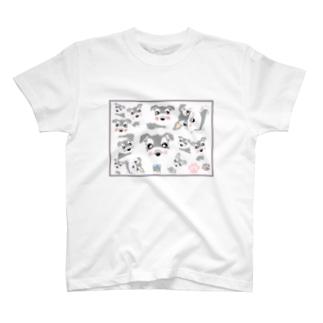あっちこっちシュナT T-shirts