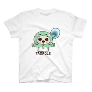おたまじゃくしさん T-shirts