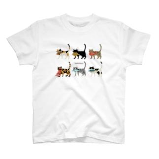 よあけねこ 集合 T-Shirt