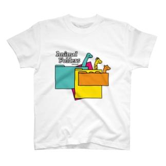 アニマルフォルダーズ 1.0 T-shirts
