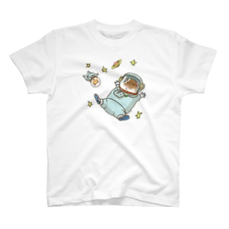 モルとハムの宇宙旅行 T-shirts