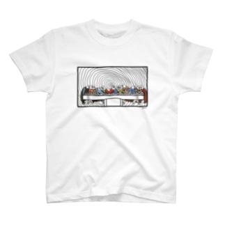 サイゴノバンサン 白Tシャツバージョン T-shirts