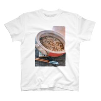 鍋の残りで作ったラーメン T-shirts