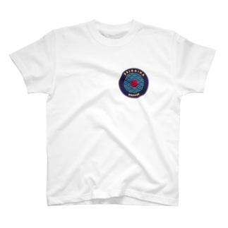 和柄ワッペン その2 T-shirts