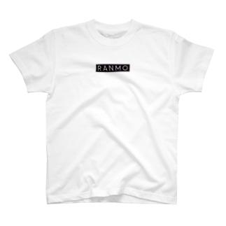 「RANMO」ブランドT ブラックラベル T-shirts