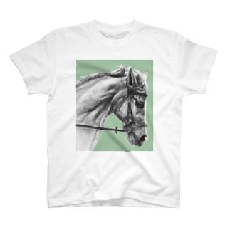 馬の素描Tシャツ11 T-Shirt