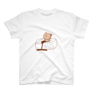 Tofu mentalくまさん(Tシャツ) T-shirts