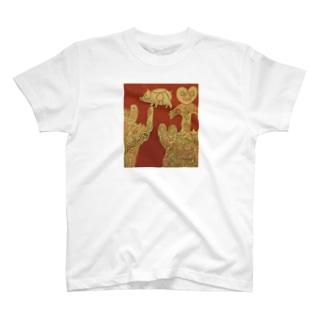 縄文土器 T-shirts