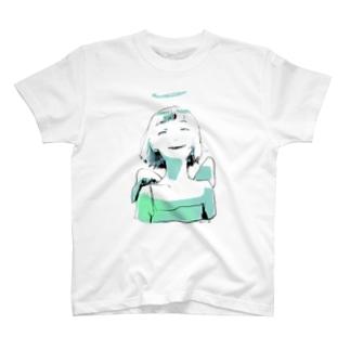 ゆののC1/C1 (mintgreen) T-Shirt