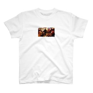 流行に乗った悪ノリ T-shirts