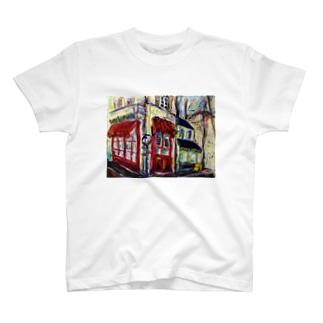 アヴィニオンの街角 T-shirts