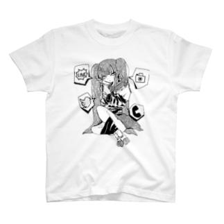 依存 T-shirts
