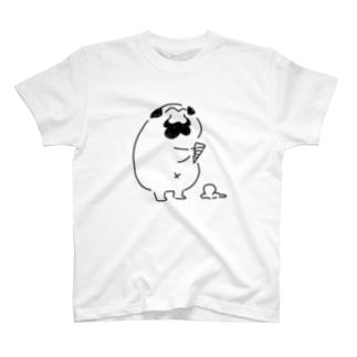 アイスおちてんじゃねーか!! T-shirts