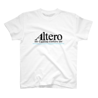 Altero Custom Guitars02(淡色向け) T-shirts