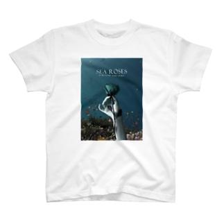 海の薔薇 T-shirts