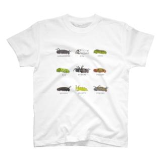 イモムシ図鑑 T-shirts