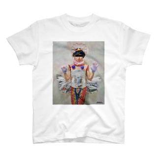 お姫様(絵画調) T-shirts