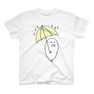 あめふりあざらし T-shirts
