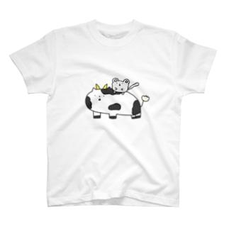 牛とねずみ T-shirts