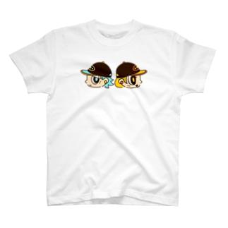 キャップボーイ&キャップガール T-shirts