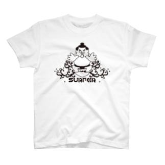 KENICHIROUのわんぱくちゃんSURFER T-Shirt