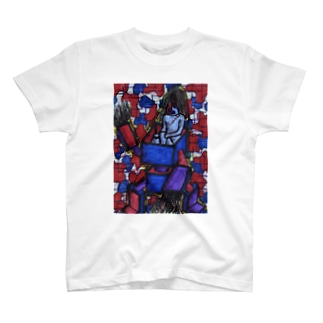 機械的通学 T-shirts